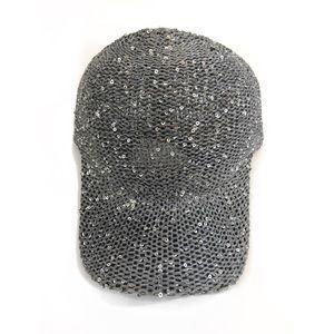 Accessories - Gray sequin cap